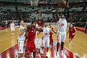 DESCRIZIONE : Roma Eurolega 2008-09 Lottomatica Virtus Roma Union Olimpija Lubiana<br /> GIOCATORE : Frank Robinson<br /> SQUADRA : Union Olimpija Lubiana<br /> EVENTO : Eurolega 2008-2009<br /> GARA : Lottomatica Virtus Roma Union Olimpija Lubiana<br /> DATA : 18/12/2008 <br /> CATEGORIA : rimbalzo<br /> SPORT : Pallacanestro <br /> AUTORE : Agenzia Ciamillo-Castoria/E.Castoria