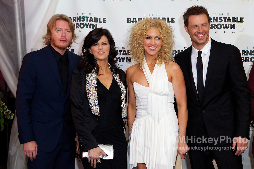 Country group Little Big Town is seen at the Barnstable Brown Gala in Louisville, Kentucky.
