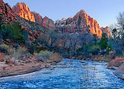 Virgin River at Zion National Park