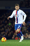 Yohan Cabaye of Crystal Palace in action. Barclays Premier league match, Everton v Crystal Palace at Goodison Park in Liverpool, Merseyside on Monday 7th December 2015.<br /> pic by Chris Stading, Andrew Orchard sports photography.