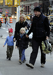 Dec. 13, 2012 - New York City, New York, U.S. - Actors NAOMI WATTS and LIEV SCHREIBER and their sons Samuel and Sasha arrive at their Noho apartment.(Credit Image: © Curtis Means/Ace Pictures/Ace Pictures/ZUMAPRESS.com)
