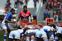 Cedric Garcia / Sebastien Tillous Bordes - 09.05.2015 - Toulon / Castres  - 24eme journee de Top 14 <br />Photo :  Alexandre Dimou / Icon Sport