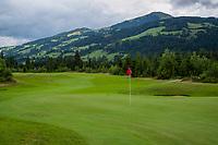 WESTENDORF -  Tirol   Oostenrijk,  -  hole 16.. Golfanlage Kitzbuheler Alpen Westendorf.    COPYRIGHT KOEN SUYK