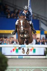 Arvidsson Niklas (SWE) - Hasard 1245<br /> Final 7 years<br /> FEI World Breeding Jumping Championships for Young Horses - Lanaken 2014<br /> © Dirk Caremans