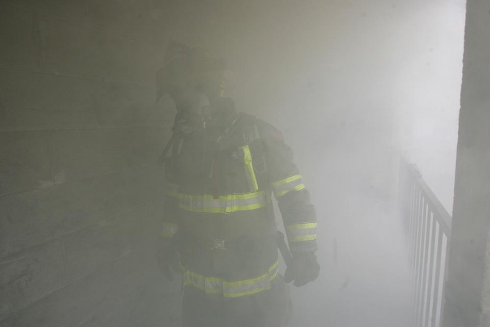 Edinburg, TX - 1 Mar 2008 -.Structure fire training, Edinburg.Photo by Alex Jones / alex@alexjonesphoto.com