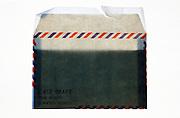 an air mail envelope