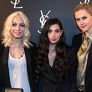 NLD/Amsterdam//20140324 - Filmpremière Yves Saint Laurent, blogsters