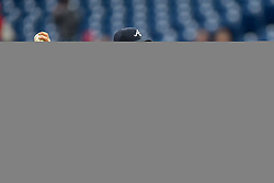 May 22, 2018 - Philadelphia, PA, U.S. - PHILADELPHIA, PA - MAY 22: Atlanta Braves starting pitcher Brandon McCarthy (32) winds up to pitch during the MLB game between the Atlanta Braves and the Philadelphia Phillies on May 22, 2018 at Citizens Bank Park in Philadelphia PA. (Photo by Gavin Baker/Icon Sportswire) (Credit Image: © Gavin Baker/Icon SMI via ZUMA Press)
