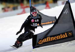 10-10-2010 SNOWBOARDEN: LG FIS WORLDCUP: LANDGRAAF<br /> First World Cup parallel slalom of the season / ZAVARZINA Alena RUS<br /> ©2010-WWW.FOTOHOOGENDOORN.NL