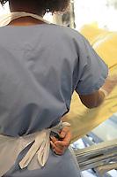 post operation care..Hospital St. Louis, a public assistance hospital, Paris ..Model released...