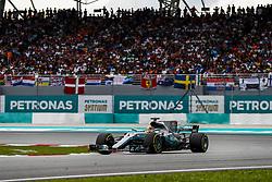 October 1, 2017 - Sepang, Malaysia - Motorsports: FIA Formula One World Championship 2017, Grand Prix of Malaysia, ..#44 Lewis Hamilton (GBR, Mercedes AMG Petronas F1 Team) (Credit Image: © Hoch Zwei via ZUMA Wire)