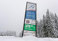 THEMENBILD - Biathlonzemntrum bei Obertilliach, aufgenommen am Dienstag, 12. November 2019, in Obertilliach in Osttirol. Heute schneit es in Österreich verbreitet bis in tiefe Lagen. Ein Teil des Schneefalls konzentriert sich dabei auf Osttirol. Hier kommen laut ZAMG bis Mittwochabend selbst in Tallagen 20 bis 50 Zentimeter Neuschnee zusammen. Vereinzelt sind auch bis zu 75 Zentimeter möglich, wie im Tiroler Gailtal // Biathlonzemntrum, taken on Tuesday, November 12, 2019, in Obertilliach in Osttirol. Today it is snowing in Austria to low altitudes. Part of the snowfall is concentrated on East Tyrol. According to ZAMG, 20 to 50 centimeters of fresh snow come together here even in valleys on Wednesday evening. Occasionally, up to 75 centimeters are possible, as in the Tyrolean Gail Valley. EXPA Pictures © 2019, PhotoCredit: EXPA/ Johann Groder