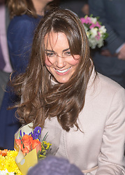Duchess of Cambridge makes official visit to Peterborough City hospital, Peterborough, England, November 28, 2012. Photo by i-Images.