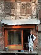Shopkeeper in Srinigar, Kashmir, India