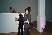 ANTHONY FAWCETT; TRACEY EMIN, Art Plus Music Party 2010. Whitechapel art Gallery.  To raise money for the gallery';s education and community programme. 22 April 2010.
