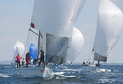 Sailing - SCOTLAND  - 25th-28th May 2018<br /> <br /> The Scottish Series 2018, organised by the  Clyde Cruising Club, <br /> <br /> First days racing on Loch Fyne.<br /> <br /> GBR9740R, Sloop John T, Iain & Graham Thomson, CCC, Swan 40<br /> <br /> Credit : Marc Turner<br /> <br /> <br /> Event is supported by Helly Hansen, Luddon, Silvers Marine, Tunnocks, Hempel and Argyll & Bute Council along with Bowmore, The Botanist and The Botanist