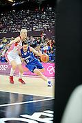 DESCRIZIONE : Basketball Jeux Olympiques Londres Demi finale<br /> GIOCATORE : Dumerc Celine<br /> SQUADRA : France  FEMME<br /> EVENTO : Jeux Olympiques<br /> GARA : France Russie<br /> DATA : 09 08 2012<br /> CATEGORIA : Basketball Jeux Olympiques<br /> SPORT : Basketball<br /> AUTORE : JF Molliere <br /> Galleria : France JEUX OLYMPIQUES 2012 Action<br /> Fotonotizia : Jeux Olympiques Londres demi Finale Greenwich Northwest Arena<br /> Predefinita :