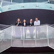 Leah Fellenz, Oscar Toomey, Aisling Burns and Isabel Van Der Voort. Concern Debate FInals 2018