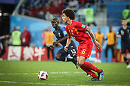Axel Witsel of Belgium during the 2018 FIFA World Cup Russia, Semi Final football match between France and Belgium on July 10, 2018 at Saint Petersburg Stadium in Saint Petersburg, Russia - Photo Thiago Bernardes / FramePhoto / ProSportsImages / DPPI