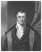 Humphry Davy (1778-1829) English chemist. Engraving after portrait by Sir Thomas Lawrence