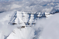 Mt. Timpanogos after a fall snow storm