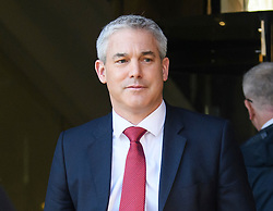 © Licensed to London News Pictures. 27/02/2019. London, UK. Brexit Secretary STEPHEN BARCLAY is seen in Westminster, London following a Radio interview. British Prime Minister Theresa May has promised a vote on leaving the EU with no deal if her deal is rejected by Parliament. The UK is due to leave the EU on March 29th. Photo credit: Ben Cawthra/LNP