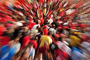 September 10-12, 2010: Italian Grand Prix. Ferrari fans