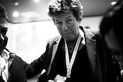 Susanna Camusso durante il IV congresso CGIL della camera del lavoro metropolitana e provinciale di Bari. Bari, 10 marzo 2014. Christian Mantuano / OneShot