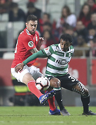 February 7, 2019 - Na - Lisbon, 06/02/2019 - SL Benfica received this evening the Sporting CP in the Stadium of Light, in game the account for the first leg of the Portuguese Cup 2018/19 semi final. Jardel and Wendel  (Credit Image: © Atlantico Press via ZUMA Wire)