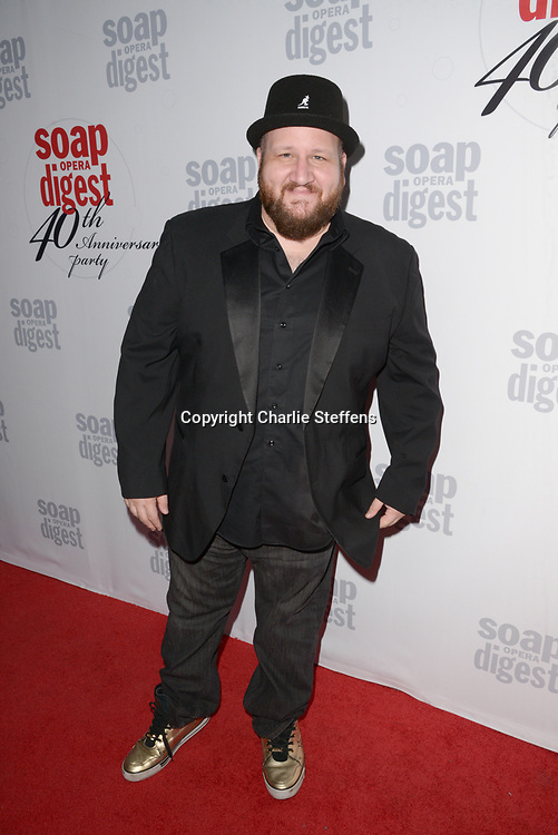 STEPHEN KRAMER at Soap Opera Digest's 40th Anniversary party at The Argyle Hollywood in Los Angeles, California