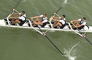 Photo Peter Spurrier.16/09/2002.2002 World Rowing Championships - Seville - Spain.NZL M4- [Mandatory Credit: Peter SPURRIER/Intersport Images]<br /> <br /> 20020921 World Rowing Championships Seville, SPAIN