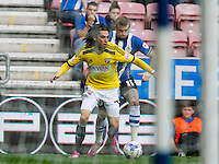 Brentford FC's Jota during the Sky Bet Championship match between Wigan Athletic and Brentford at the DW Stadium, Wigan. 18/10/2014.<br /> Picture by Mark D Fuller