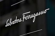 Sign for high end fashion and exclusive brand Salvatore Ferragamo.