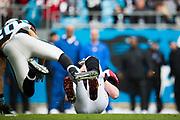 December 24, 2016: Carolina Panthers vs Atlanta Falcons. Kurt Coleman