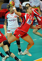 Håndball , 20. desember 2009 , Norge - Spania , Bronse-finale , hvor nordk tok 3. plassen<br /> World Cup China Game to square 3 Spain Norway 20 28 Marit Malm Frafjord , Norge<br /> <br /> Norway only