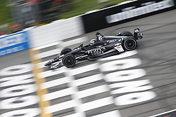 August 18, 2018 - Long Pond, Pennsylvania, United Stated - ED CARPENTER (20) of the United States takes to the track to practice for the ABC Supply 500 at Pocono Raceway in Long Pond, Pennsylvania. (Credit Image: © Justin R. Noe Asp Inc/ASP via ZUMA Wire)