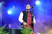 """Auftritt von Robin Marc beim Open Air-Festival """"Der Berg bebt!"""" vom 15.07.2017 auf dem Plaun Grond, Flims."""