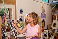 Artist Betsy Burbank