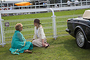 JOSE FONSECA; SOPHIE WARRE, Glorious Goodwood. Thursday.  Sussex. 3 August 2013