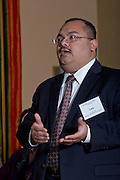 Leo Bobadilla, Houston Independent School District spoke at the 2013 CEFPI Southern Region Conference about planning and passing a $1.89 billion bond referendumin in Austin, Texas on Friday, April 5, 2013 at the Renaissance Austin Hotel. (Christina Burke)