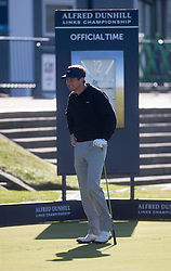 Tom Chaplin. Alfred Dunhill Links Championship this morning at St Andrews.