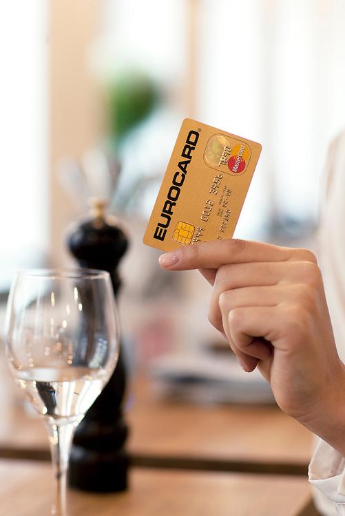 Mastercard, Eurocard, Branding