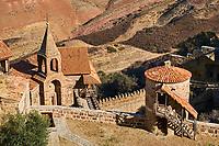 Georgie, Caucase, Kakheti, Davit Gareja, monastère de Davit Gareja, église Lavra // Georgia, Caucasus, Kakheti, Davit Gareja, Lavra church