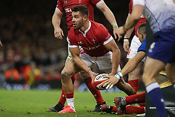 February 1, 2020, Cardiff (Wales, Italy: rhys webb (galles) apre the gioco for mate nel match against l'italia during Wales vs Italy, Six Nations Rugby in Cardiff (Wales), Italy, February 01 2020 (Credit Image: © Massimiliano Carnabuci/IPA via ZUMA Press)