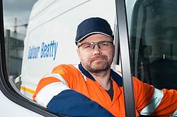 Balfour Beatty have 13 new fitters vans delivered Derby, <br /> <br />   05 March 2018 <br />   Copyright Paul David Drabble<br />   www.pauldaviddrabble.co.uk
