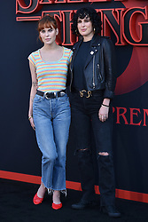 """Tallulah Willis and Rumer Willis attend the premiere of Netflix's """"Stranger Things"""" Season 3 on June 28, 2019 in Santa Monica, CA, USA. Photo by Lionel Hahn/ABACAPRESS.COM"""