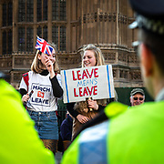 Manifestazione dei Brexiter davanti a Westminster per chiedere l'uscita del UK dalla UE.<br /> <br /> The Brexiters demonstration in parliament square in London to claim the exit of UK from the EU. <br /> <br /> #6d, #photooftheday #picoftheday #bestoftheday #instadaily #instagood #follow #followme #nofilter #everydayuk #canon #buenavistaphoto #photojournalism #flaviogilardoni <br /> <br /> #london #uk #greaterlondon #londoncity #centrallondon #cityoflondon #londonuk #visitlondon<br /> <br /> #brexit #brexiter #ukip #EU<br /> <br /> #photo #photography #photooftheday #photos #photographer #photograph #photoofday #streetphoto #photonews #amazingphoto #blackandwhitephoto #dailyphoto #funnyphoto #goodphoto #myphoto #photoftheday #photogalleries #photojournalist #photolibrary #photoreportage #pressphoto #stockphoto #todaysphoto #urbanphoto