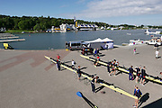 Poznan. Poland. General View of the rowing course. FISA 2015 European Rowing Championships. Venue Lake Malta. 28.05.2015. [Mandatory Credit: Peter Spurrier/Intersport-images.com] .   Empacher.