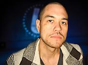 Washington, D.C. (March 17, 2010) - DJ Jesse Tittsworth at the opening night of his new dance club, U Street Music Hall. (Photo by Kyle Gustafson)