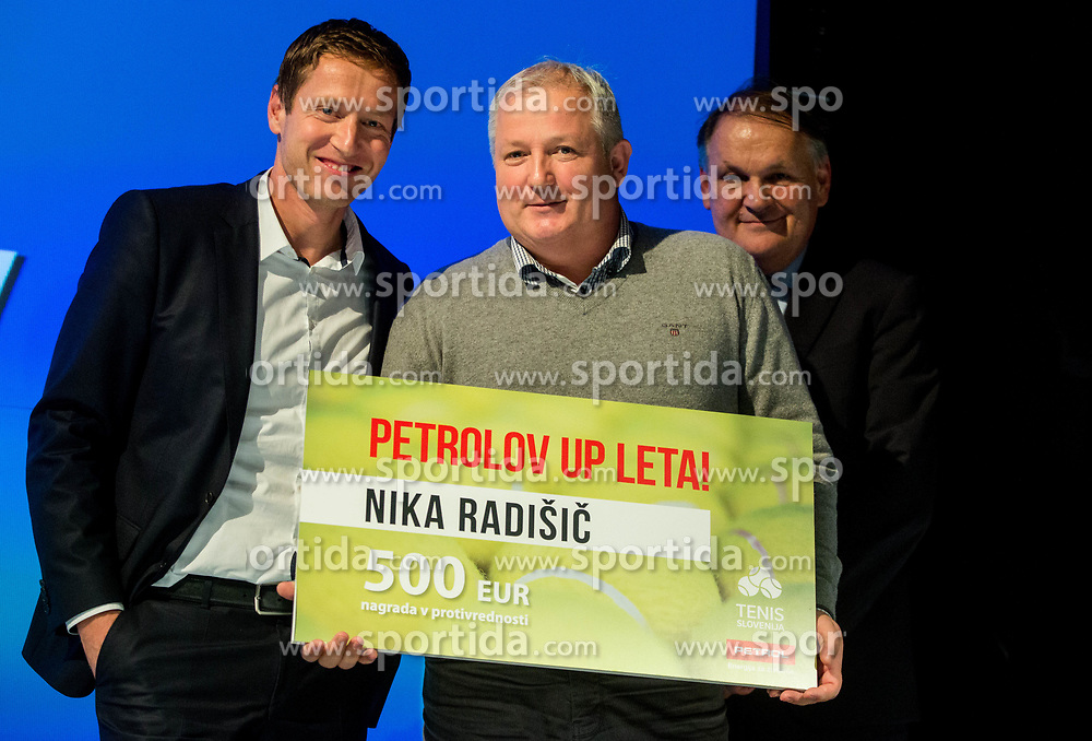 Father of Nika Radisic during Slovenian Tennis personality of the year 2017 annual awards presented by Slovene Tennis Association Tenis Slovenija, on November 29, 2017 in Siti Teater, Ljubljana, Slovenia. Photo by Vid Ponikvar / Sportida